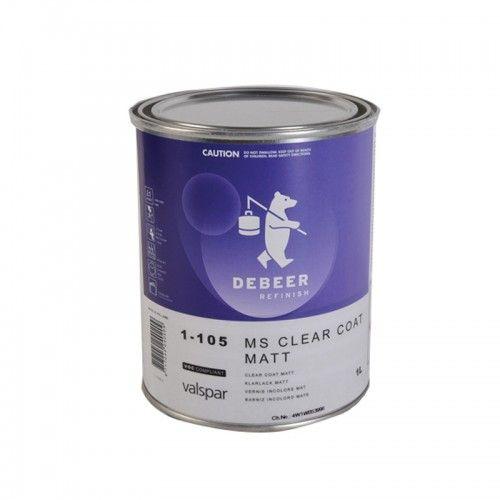 MS CLEAR COAT MATT DeBeer - 1 Lakiery samochodowe Debeer, Detailing Koch Chemie Środki dla myjni samochodowych