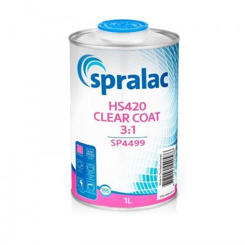 HS420 CLEAR COAT 3:1 Spralac - 1 Lakiery samochodowe Debeer, Detailing Koch Chemie Środki dla myjni samochodowych
