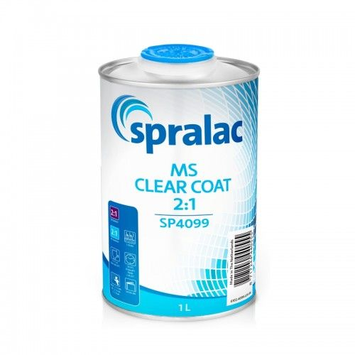 MS CLEAR COAT 2:1 Spralac - 1 Lakiery samochodowe Debeer, Detailing Koch Chemie Środki dla myjni samochodowych