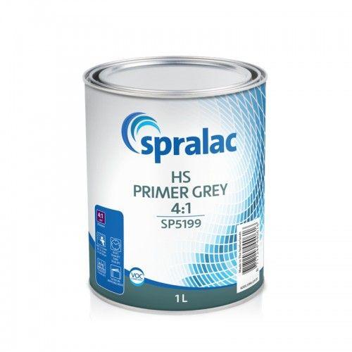 HS PRIMER GREY 4:1 Spralac - 1 Lakiery samochodowe Debeer, Detailing Koch Chemie Środki dla myjni samochodowych