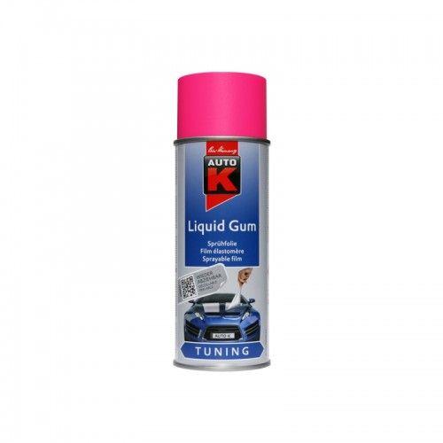 liquid gum neon pink Kwasny - 1 Lakiery samochodowe Debeer, Detailing Koch Chemie Środki dla myjni samochodowych