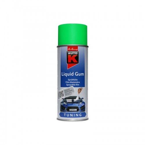 liquid gum neon green Kwasny - 1 Lakiery samochodowe Debeer, Detailing Koch Chemie Środki dla myjni samochodowych
