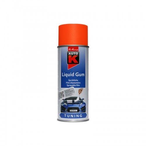 liquid gum neon orange Kwasny - 1 Lakiery samochodowe Debeer, Detailing Koch Chemie Środki dla myjni samochodowych