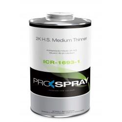 ICR-1693 2K H.S. MEDIUM THINNER Prospray - 1 Lakiery samochodowe Debeer, Detailing Koch Chemie Środki dla myjni samochodowych