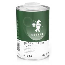 1-060 2K Structure Coat Fine DeBeer - 1 Lakiery samochodowe Debeer, Detailing Koch Chemie Środki dla myjni samochodowych