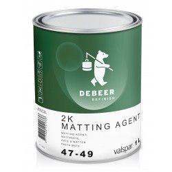 47-49 2K Matting Agent DeBeer - 1 Lakiery samochodowe Debeer, Detailing Koch Chemie Środki dla myjni samochodowych