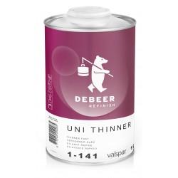 1-141 Uni Thinner Fast DeBeer - 1 Lakiery samochodowe Debeer, Detailing Koch Chemie Środki dla myjni samochodowych