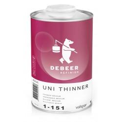 1-151 Uni Thinner Medium DeBeer - 1 Lakiery samochodowe Debeer, Detailing Koch Chemie Środki dla myjni samochodowych